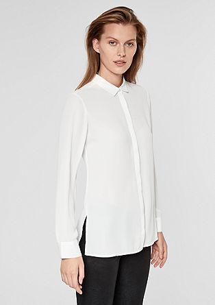 bluza s plisiranim hrbtnim delom