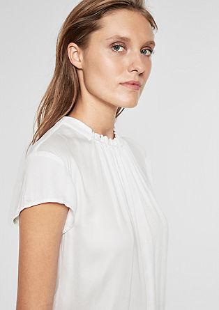 Élégante blouse en satin de s.Oliver