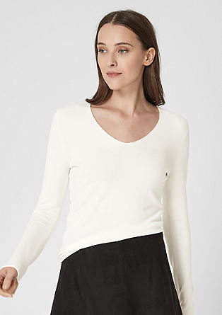 Lightweight V-neck jumper from s.Oliver