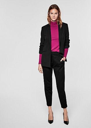 Rachel slim: broek met strepen