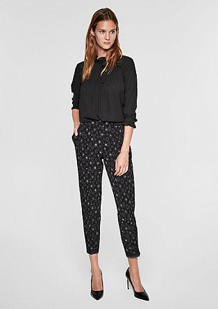 Rita Comfort: kalhoty se třpytivými náplety