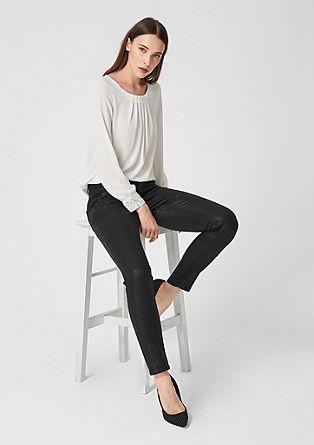 Sienna slim: glanzende jeans
