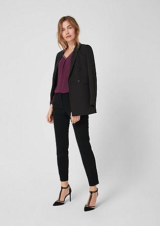 Sue slim: business pantalon met 7/8-pijpen