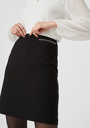 Business skirt with decorative detail from s.Oliver