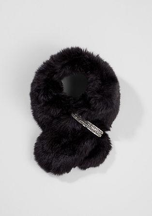 Eleganter Fake Fur-Schal
