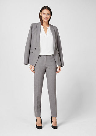 Sue slim: elegante business pantalon