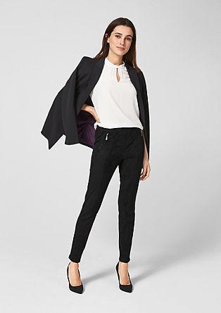 Sienna Slim: Velurové kalhoty