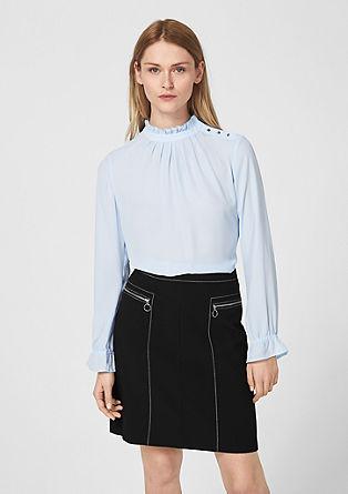 Elegantní sukně sozdobným švem