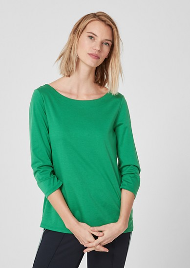 Interlock jersey top from s.Oliver