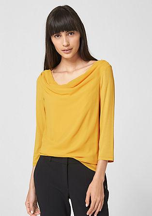 Shirt mit Blusenfront