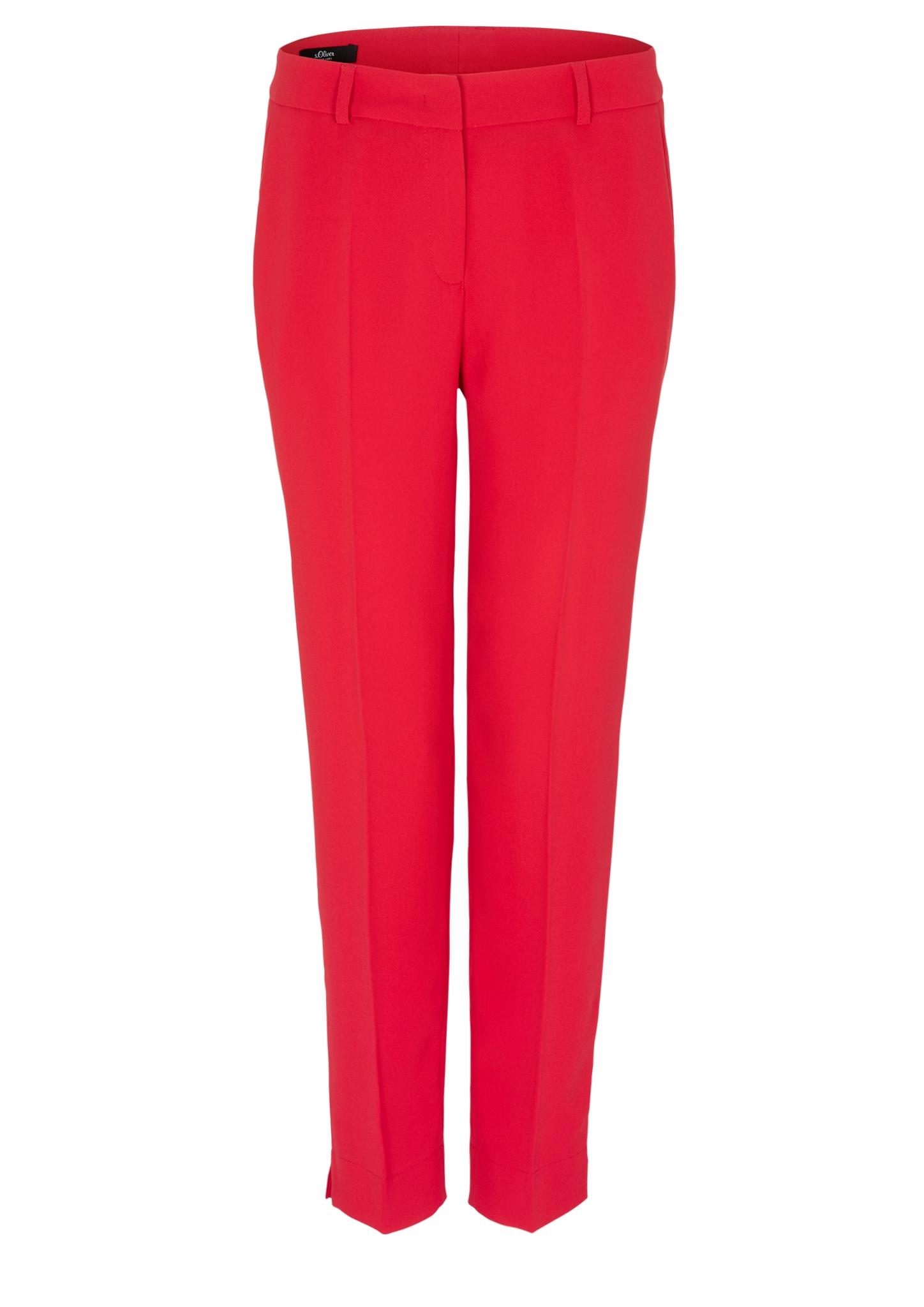 Bügelfaltenhose | Bekleidung > Hosen > Bügelfaltenhosen | Rot | Oberstoff: 100% polyester| futter: 100% acetat | s.Oliver BLACK LABEL