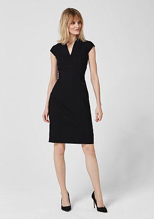 Elegant twill dress from s.Oliver