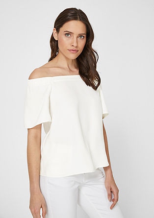 Leichte Off Shoulder-Bluse
