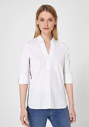 Blouse with tape on the sides from s.Oliver