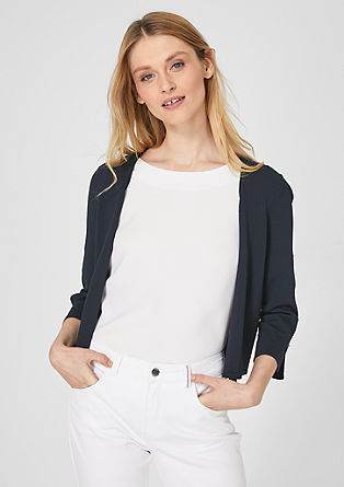 Short fine knit cardigan from s.Oliver