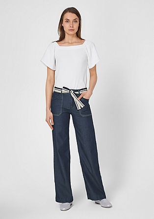 Milli Bootcut: jeans with a tie belt from s.Oliver