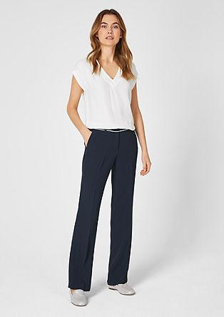 Charlotte Wide: elegantne hlače iz krepa
