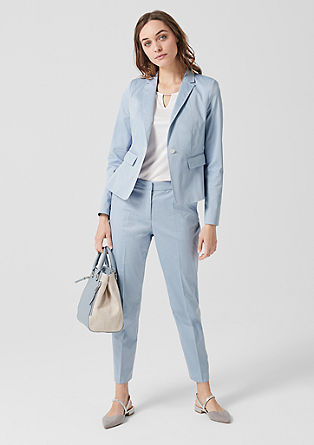 Rita Comfort: Twill trousers from s.Oliver