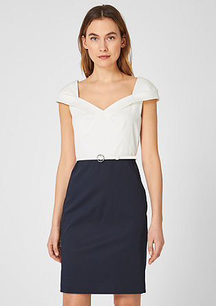 V-neck sheath dress from s.Oliver