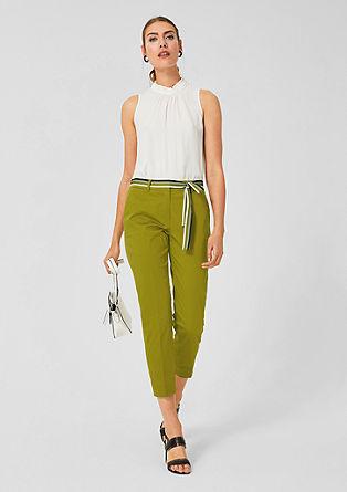 Rita Comfort: saténové kalhoty sopaskem