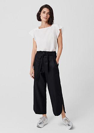 Elegante culotte van linnen