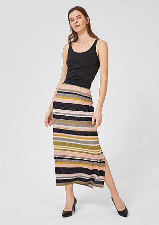 Maxi skirt with stripes from s.Oliver