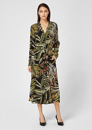 Maxi-jurk met exotisch motief
