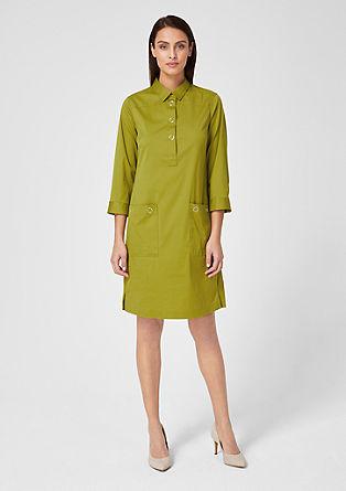 elegantní košilové šaty