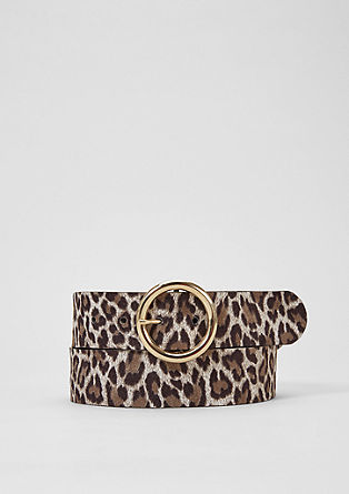 Animal-look belt from s.Oliver