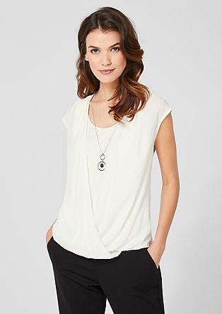 Blouseachtig shirt met een laagjeslook