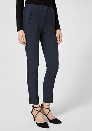 Sofia Slim: trousers with side stripes from s.Oliver