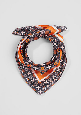 Nicky scarf with an all-over pattern from s.Oliver