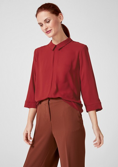 Flowing crêpe blouse from s.Oliver