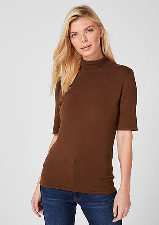 Short sleeve fine knit jumper from s.Oliver