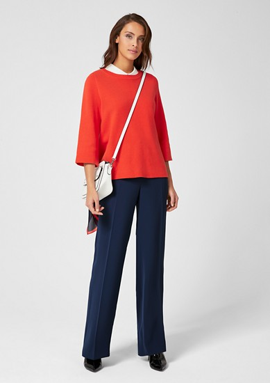 Charlotte Wide: Business trousers from s.Oliver