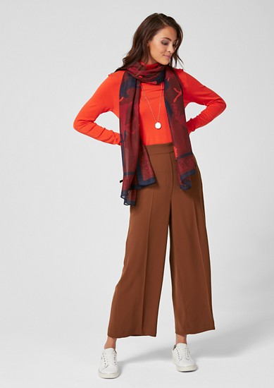 Elegant culottes from s.Oliver