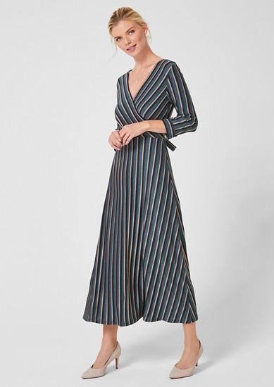 Kleid mit Glitzerstreifen