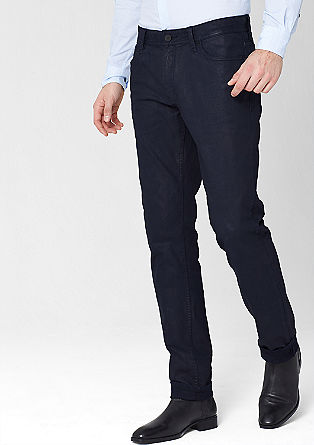 Super Stretto Straight: Stretch-Denim