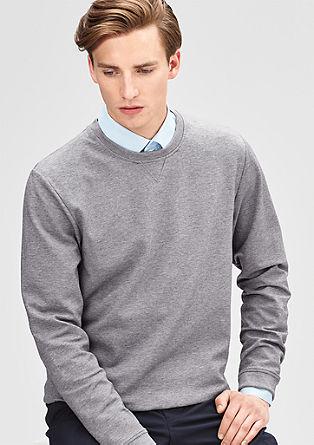 Sweatshirt van stijlvol materiaal