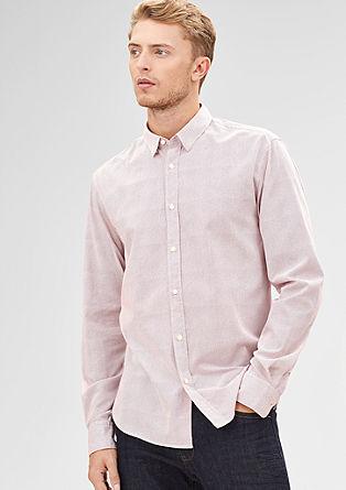 Modern Fit: Gepunktetes Hemd