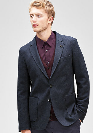 Modern Fit: Tweed jacket from s.Oliver