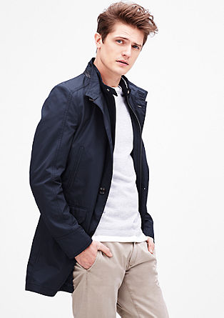 Modern fit: Sporty short coat from s.Oliver