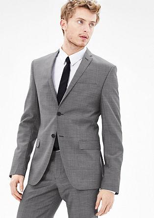 Slim: Sakko aus Schurwolle