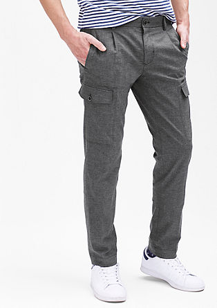 Mauro Slim: Stretch trousers with pockets from s.Oliver