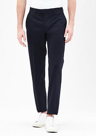 Slim: Fein strukturierte Anzughose