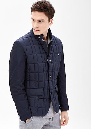 Sporty quilted jacket from s.Oliver