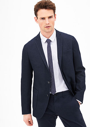 Modern Fit: sports jacket in a denim look from s.Oliver