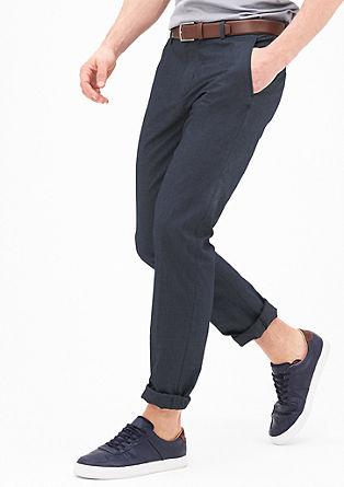 Mauro Slim: stretchy chinos from s.Oliver