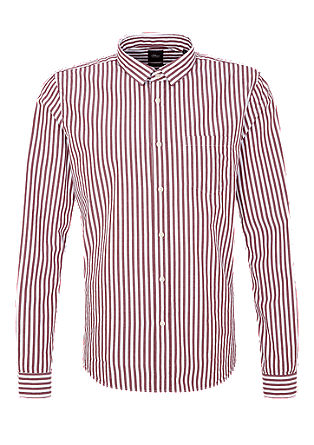 Slim: cropped shirt with stripes from s.Oliver