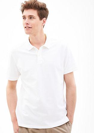 Elegantes Piqué-Poloshirt